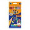 BIC Kredki Eco Evolution Stripes 12 kolorów Kredki ołówkowe 99102