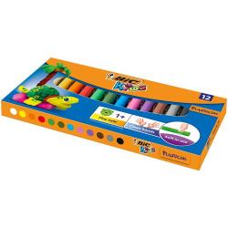 BIC Plastelina 12 kolorów BIC KIDS 85495