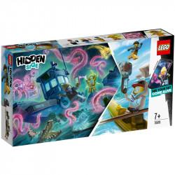 LEGO Hidden Side 70419 Zestaw Wrak Łodzi Rybackiej