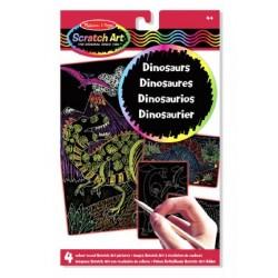 Melissa & Doug - 15957 - Zdrapki Holograficzne - Dinozaury