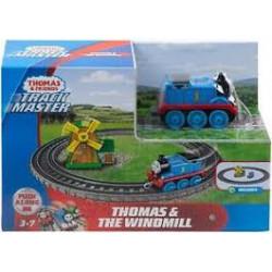 Fisher-Price TOMEK I PRZYJACIELE Track Master Zestaw Tomek w krainie wiatraków GFF09