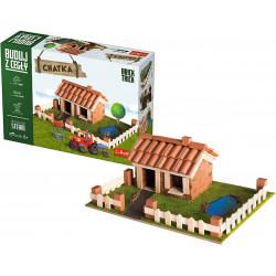 TREFL Brick Trick Buduj z Cegieł Chatka 60874