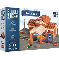 TREFL Brick Trick Buduj z Cegieł Dworzec 60880