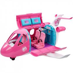 Mattel Barbie Dreamhouse Adventures - Samolot z wyposażeniem - 15 akcesoriów GDG76