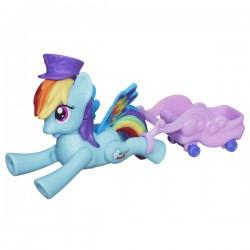 Hasbro - A5934 - A6240 - My Little Pony - Latający Kucyk - Rainbow Dash