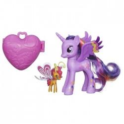 Hasbro - A8743 - A8209 - My Little Pony - Tęczowy Kucyk z Akcesoriami - Twilight Sparkle i Sunset Brezie