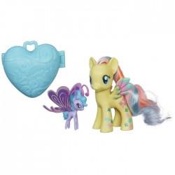 Hasbro - A8742 - A8209 - My Little Pony - Tęczowy Kucyk z Akcesoriami - Fluttershy i Sea Brazie