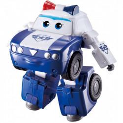 SUPER WINGS Transformująca Policjantka Kim Radiowóz i Robot 730233