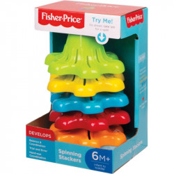 Fisher Price Wieża z Klockami do Obracania Spinning Stackers FYL38