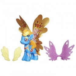 Hasbro - B0371 - B0374 - My Little Pony - Style Kit - Skrzydlate Kucyki - Spifire