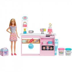Mattel Lalka Barbie You Can Be Anything Pracownia Wypieków Cukiernik GFP59