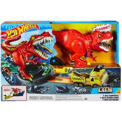 MATTEL HOT WHEELS City Zestaw Atak T-Rexa Dinozaur GFH88