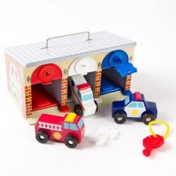 Melissa & Doug - 14580 - Garaż - Pojazdy Ratunkowe