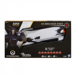Hasbro NERF RIVAL OVERWATCH Reaper Wight Edition Wyrzutnia Kulek E5026