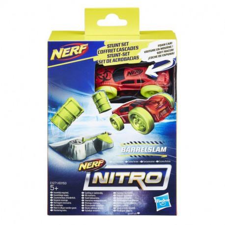 Hasbro NERF NITRO Czerwony Samochód i Rampa E1271