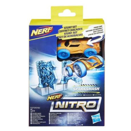 Hasbro NERF NITRO Pomarańczowy Samochód i Lodowa Bramka E1270