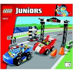 LEGO JUNIORS 10673 Wyścigi samochodowe