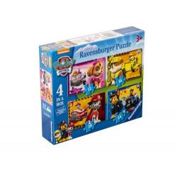 RAVENSBURGER Układanka Puzzle 4w1 PSI PATROL 070336