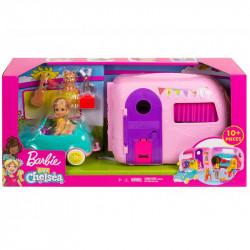 Mattel Barbie Club Chelsea Wymarzony Kamper Przyczepa Kempingowa FXG90