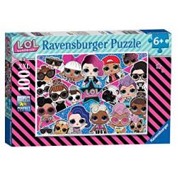 RAVENSBURGER Układanka Puzzle 100 Elementów LOL SURPRISE 12882