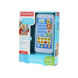 """Fisher-Price Zabawka dla Maluszka Uczący Smartfonik """"Nagraj Wiadomośc"""" FPR18"""