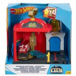 Mattel HOT WHEELS CITY Odjazdowa Remiza Strażacka FRH29