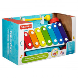 Fisher-Price Zabawka dla Maluszka Instrument Muzyczny CYMBAŁKI Ksylofon CMY09