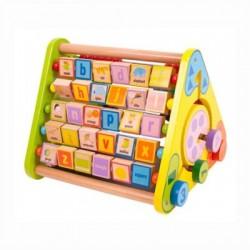 Bigjigs Toys - BB054 - Trójkątne Centrum Aktywne