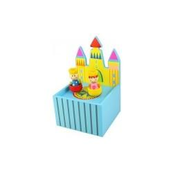Bigjigs Toys - BJ184 - Pozytywka - Zamek Królewski