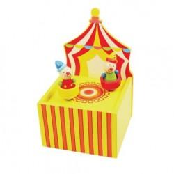 Bigjigs Toys - BJ185 - Pozytywka - Cyrk