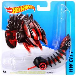 Mattel Hot Wheels Samochodzik Mutant Scorpedo Czarny BBY88