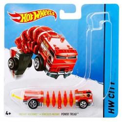 Mattel Hot Wheels Samochodzik Mutant Power Tread Czerwony BBY85