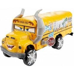 Mattel Cars Auta Miss Fritter Deluxe Autobus Szkolny DXV94