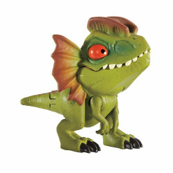 Mattel JURASSIC WORLD Mini Figurka Ruchomy Dinozaur DILOFOZAUR GLH23