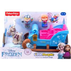 Fisher-Price Frozen KRAINA LODU Sanie Krzysztofa i Anna GGV30