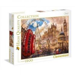 CLEMENTONI - Puzzle 1500 el. - High Quality Collection - Vintage London - Londyn - 31807
