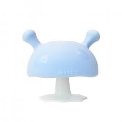 MOMBELLA Gryzak Silikonowy Uspokajający Mushroom Niebieski 70336