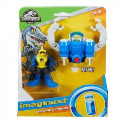 Mattel JURASSIC WORLD Imaginext Podwodny Chwytak Dinozaurów FMX95