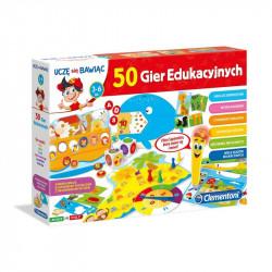 CLEMENTONI Uczę się Bawiąc Gra Elektroniczna MÓWIĄCE PIÓRO 50 GIER EDUKACYJNYCH 60472