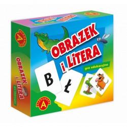 ALEXANDER Gra Edukacyjna OBRAZEK I LITERA 7854