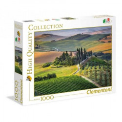 CLEMENTONI Puzzle 1000 el. High Quality Collection WŁOCHY Toskania 39456