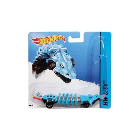 Mattel - BBY92 - HW City - Hot Wheels Mutant - Mutant Machines - Skullface