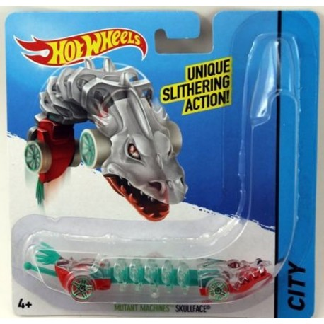 Mattel - BBY84- HW City - Hot Wheels Mutant - Mutant Machines - Skullface