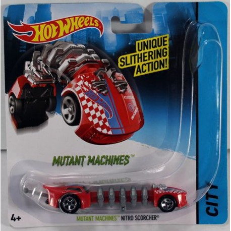 Mattel - CGM84 - HW City - Hot Wheels Mutant - Mutant Machines - Nitro Scorcher