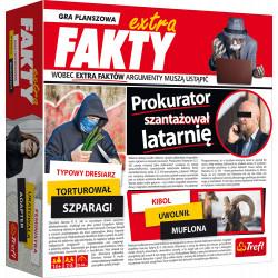 TREFL Gra Planszowa EXTRA FAKTY 01486