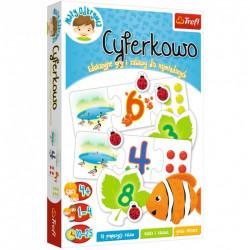 TREFL Gra Edukacyjna CYFERKOWO 01799