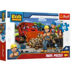 TREFL Puzzle Układanka 60 el. BOB BUDOWNICZY 17300