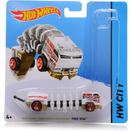 Mattel - BBY93 - HW City - Hot Wheels Mutant - Mutant Machines - Power Tread