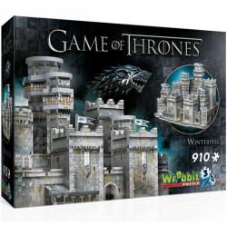 WREBBIT Puzzle 3D Gra o Tron Zamek Winterfell 910 Elementów 02018