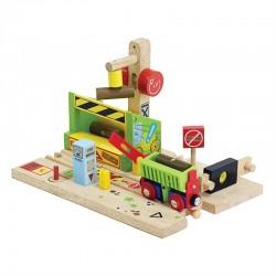 Bigjigs Toys - BJT228 - Tartak - do Kolejek Drewnianych